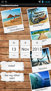 Vacation Countdown Widget - screenshot thumbnail