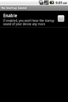 Screenshot of No Startup Sound