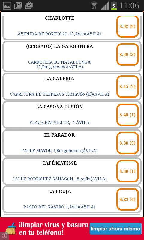 taapas.es (Spanish free tapas)- screenshot