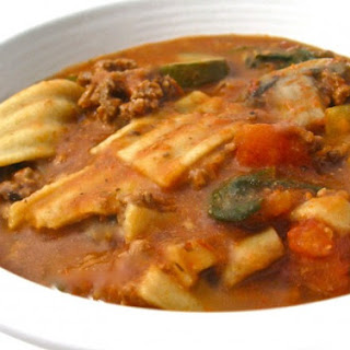 Skinny Lasagna Soup Recipe