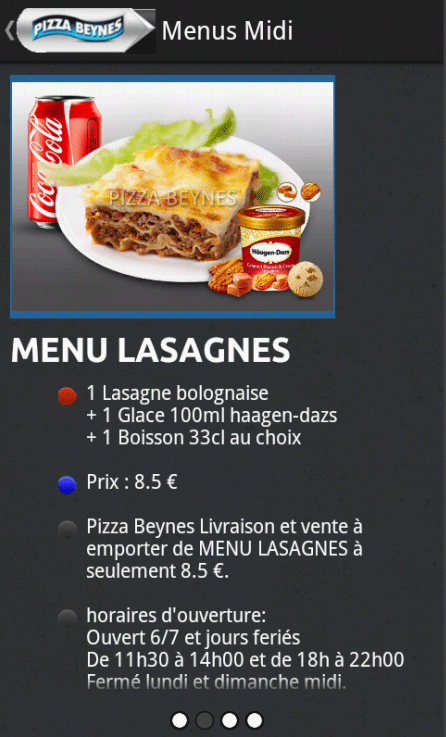 Pizza Presto Beynes- screenshot