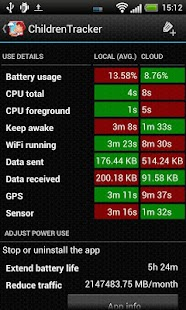Battery Stats Plus- miniatura screenshot