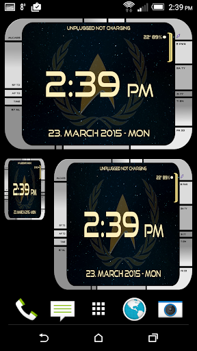Starfleet LCARS Clock app (apk) free download for Android/PC