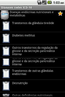 ICD-10 (for Android 2)- screenshot thumbnail