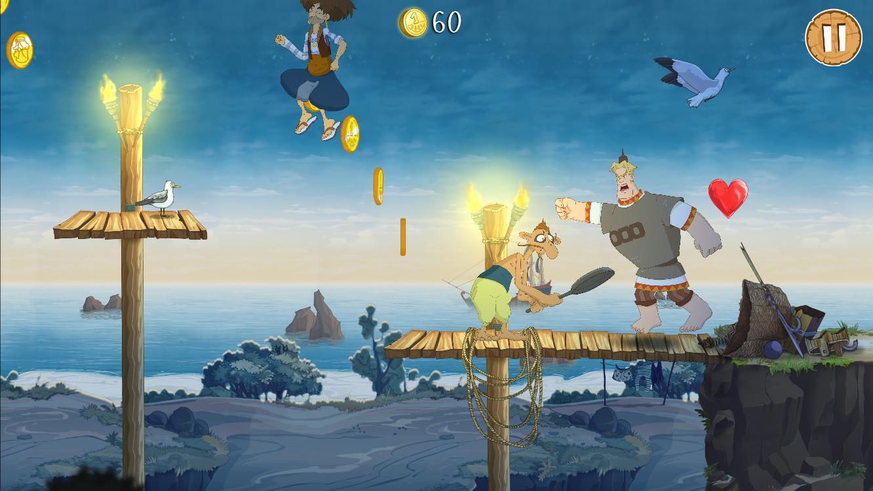 Игра Три богатыря: Ход конем играть онлайн - Anolink ru