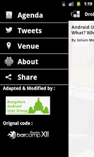 Droidcon India - screenshot thumbnail