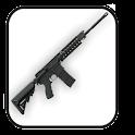 Rifle doo-dad logo