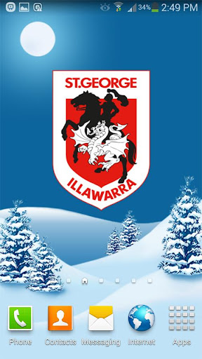 St.George Dragons Snow Globe