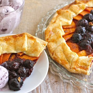Rustic Sweet Potato And Cherry Galette