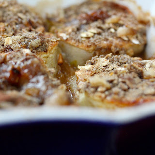 Baked Apples with Buckwheat-Oatmeal Crumble Recipe