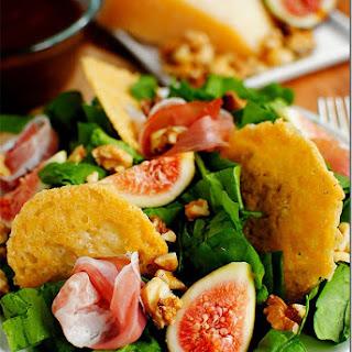 Fig & Frico Prosciutto Salad