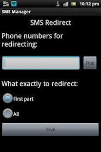 SMS Manager- screenshot thumbnail
