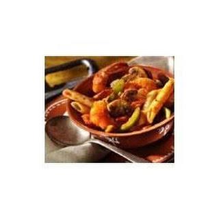 Picante Shrimp 'n' Pepper Pasta.