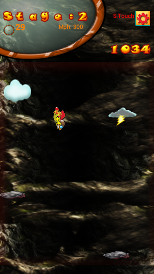 FreeFall Bird- screenshot
