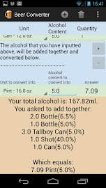 Alcohol & Beer Converter Screenshot 5