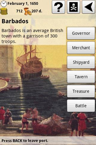Pirates and Traders: Retro! - screenshot