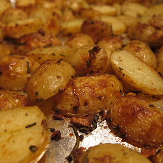 Rosemary Garlic Roasted Potatoes.