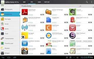 Screenshot of Tablified Market Pro (50% OFF)