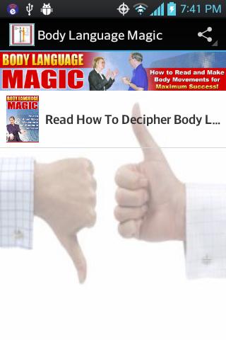 Body Language - Read People