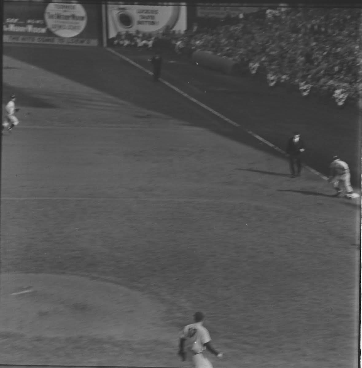World Series Base Ball Game Aerial Roll #1