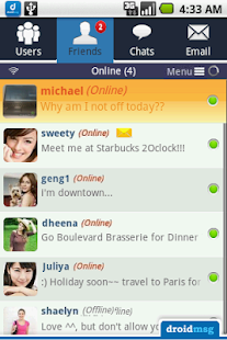 DROIDMSG (PRO) - Free Dating - screenshot thumbnail