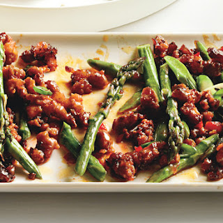 Spicy Pork with Asparagus and Chile