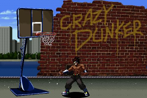 Crazy Dunker - screenshot
