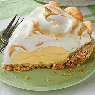 Lemon Meringue Ice-Cream Pie