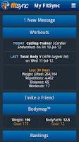 Screenshot of FitSync® Premium