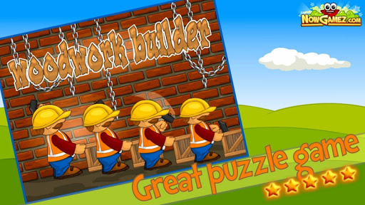 【免費家庭片App】Woodwork Builder Funny Game-APP點子