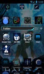 Halo 4 Theme - GO LAUNCHER EX - screenshot thumbnail