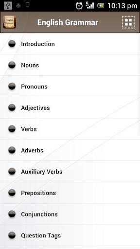English Grammar Book  screenshots 2