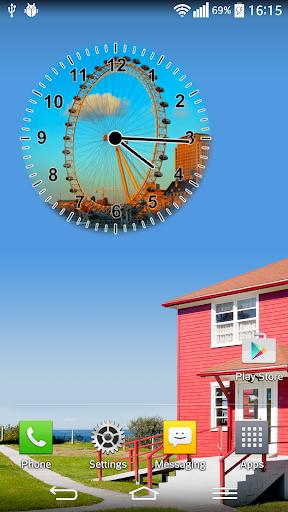 世界時鐘部件