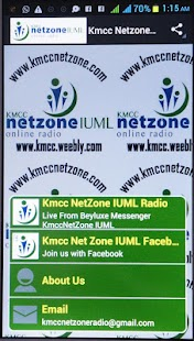 KMCC NETZONE IUML RADIO- screenshot thumbnail