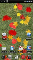 Screenshot of Autumn Leaves Free LWP