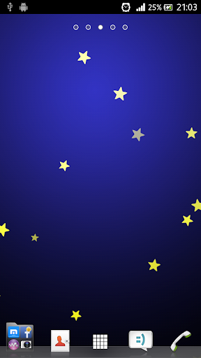 Stars Flying Live WallpaperPro