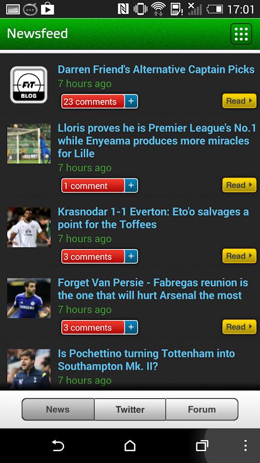 Fantasy iTeam - screenshot