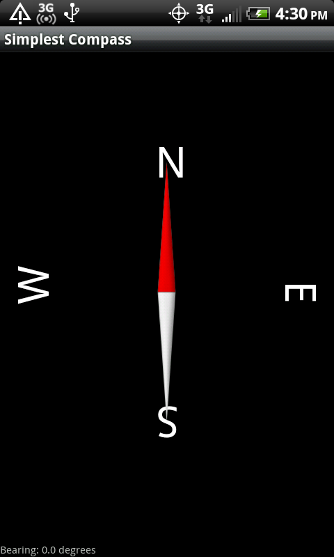 Simplest Compass- screenshot