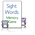 Sight Words Memory Game Free icon