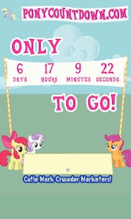 PonyCountdown - screenshot thumbnail