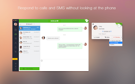AirDroid - Android on Computer Scre