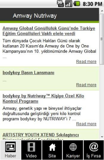 Amway Nutriway