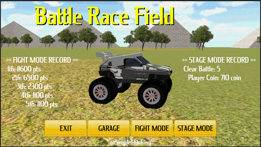 【免費賽車遊戲App】Battle Racing Filed 3D-APP點子