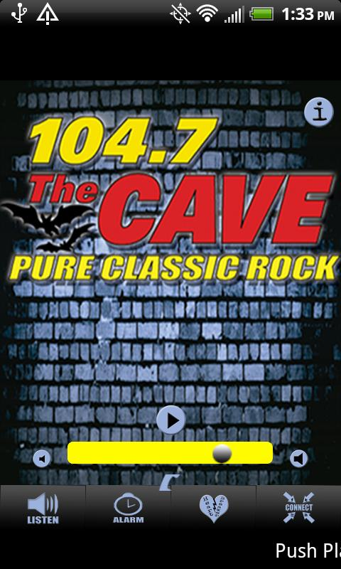 KKLH FM 104.7 The Cave - screenshot