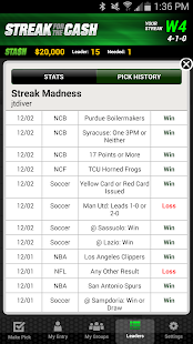 ESPN Streak For The Cash- screenshot thumbnail