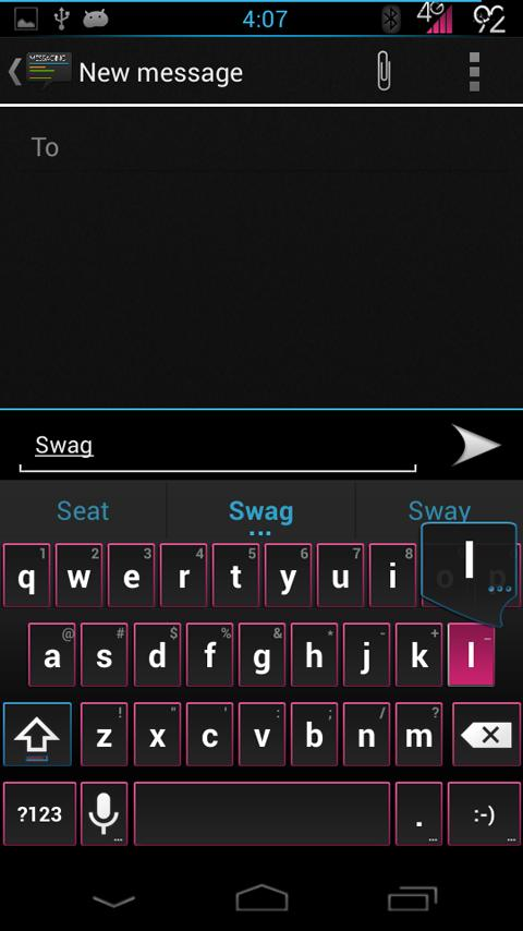 SWAG Theme Chooser - screenshot