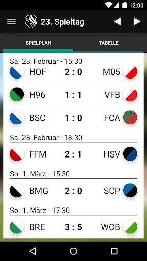 Mission 1. Liga Fußball-Ticker