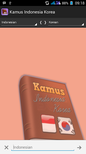 Kamus Indonesia Korea