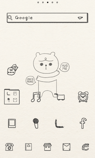Hold me dodol launcher theme
