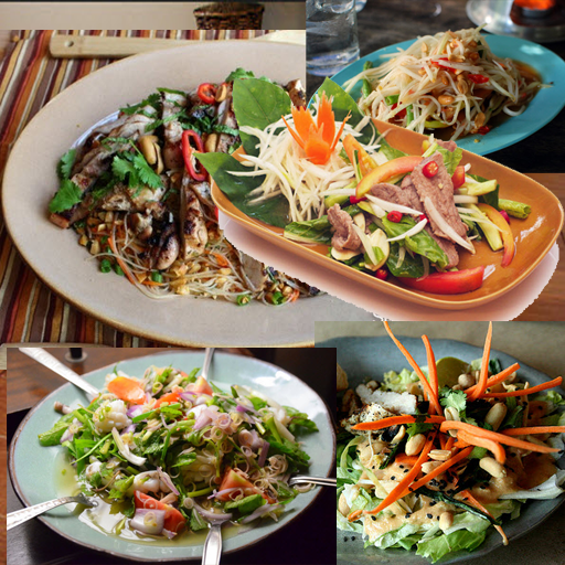 玩健康App|Thai Salad Recipes免費|APP試玩